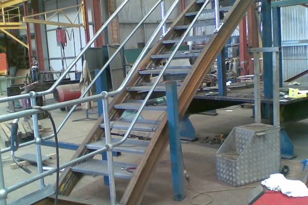 Curved Robe Stairs 3